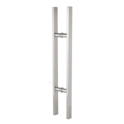Pull handle - Square - Stainless Steel - 600mm