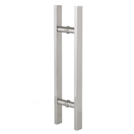 Pull handle -Square - Stainless Steel - 450mm
